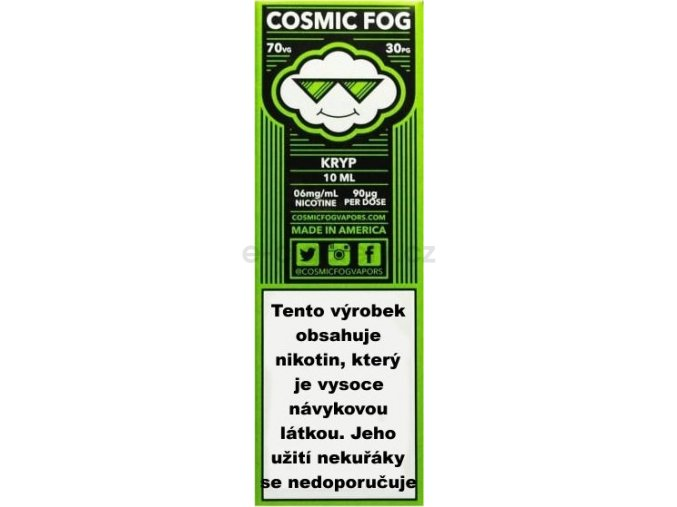 Liquid COSMIC FOG Kryp 10ml-3mg