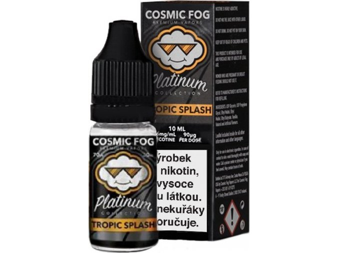 Liquid COSMIC FOG - Platinum Tropic Splash 10ml-6mg
