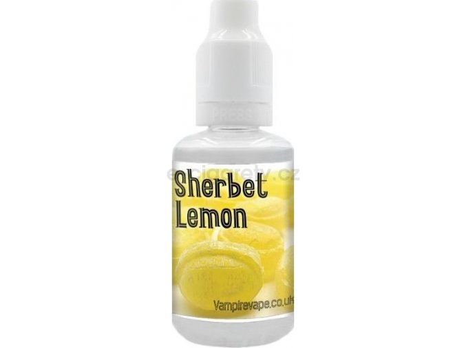 Příchuť Vampire Vape 30ml Sherbet Lemon