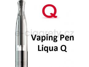 Liqua Q Vaping Pen clearomizer 1,8ohm 2ml Černý