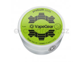 vapegear predmotane spiralky single coil a1 1 5
