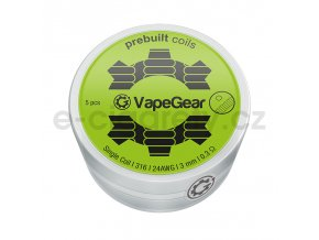 vapegear predmotane spiralky single coil ss316 03