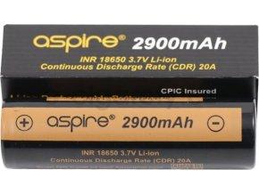 aSpire baterie typ 18650 2900mAh 20A
