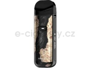Smok Nord 2 40W elektronická cigareta 1500mAh Černé dřevo