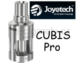Joyetech CUBIS Pro Atomizer 4ml, stříbrná