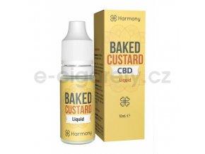 Harmony CBD Liquid Baked Custard