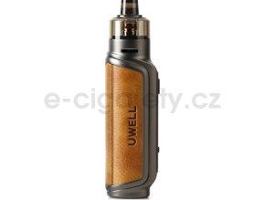 Uwell Aeglos P1 80W grip Full Kit Saddle Tan