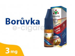 DekangEU liquid Boruvka 10ml 3mg