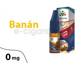 DekangEU liquid Banan 10ml 0mg