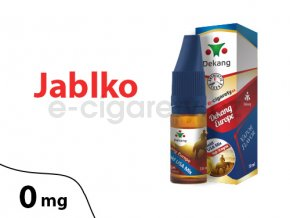 E-liquid Dekang Jablko (Apple) - 10ml, 0mg