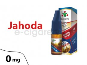 DekangEU liquid jahoda 10ml 0mg
