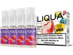 Liquid LIQUA CZ Elements 4Pack Berry Mix 4x10ml-6mg (lesní plody)