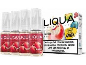 Liquid LIQUA CZ Elements 4Pack Cherry 4x10ml-3mg (třešeň)
