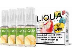 Liquid LIQUA CZ Elements 4Pack Melon 4x10ml-3mg (Žlutý meloun)