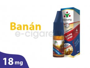 DekangEU liquid Banan 10ml 18mg