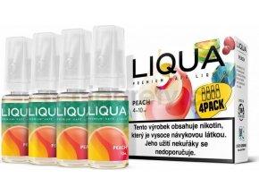Liquid LIQUA CZ Elements 4Pack Peach 4x10ml-3mg (Broskev)