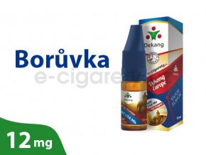 DekangEU liquid Boruvka 10ml 12mg