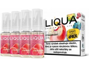 Liquid LIQUA CZ Elements 4Pack Strawberry 4x10ml-6mg (Jahoda)