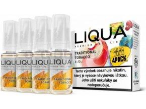 Liquid LIQUA CZ Elements 4Pack Traditional tobacco 4x10ml-6mg (Tradiční tabák)