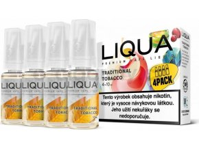 Liquid LIQUA CZ Elements 4Pack Traditional tobacco 4x10ml-6mg (Tradiční tabák)