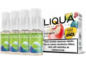 Liquid LIQUA CZ Elements 4Pack Two mints 4x10ml-6mg (Chuť máty a mentolu)