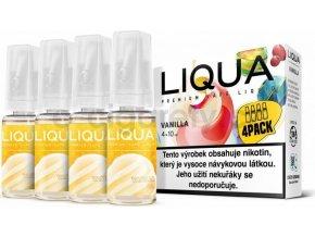 Liquid LIQUA CZ Elements 4Pack Vanilla 4x10ml-6mg (Vanilka)