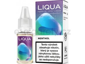 Liquid LIQUA CZ Elements Menthol 10ml-0mg (Mentol)