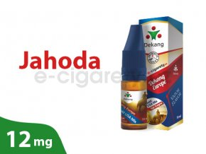 DekangEU liquid jahoda 10ml 12mg