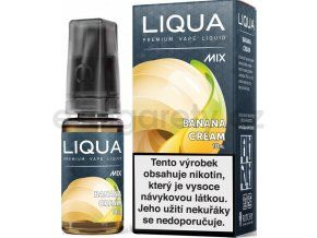 Liquid LIQUA CZ MIX Banana Cream 10ml-3mg