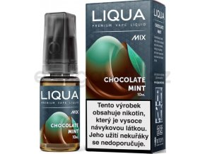 Liquid LIQUA CZ MIX Chocolate Mint 10ml-12mg