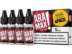 Liquid ARAMAX 4Pack USA Tobacco 4x10ml-6mg