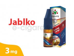 DekangEU liquid Jablko 10ml 3mg
