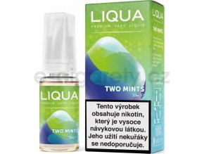 Liquid LIQUA CZ Elements Two Mints 10ml-12mg (Chuť máty a mentolu)