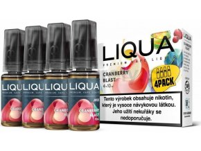 Liquid LIQUA CZ MIX 4Pack Cranberry Blast 10ml-3mg