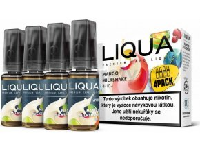 Liquid LIQUA CZ MIX 4Pack Mango Milkshake 10ml-6mg