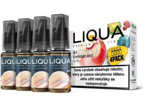 Liquid LIQUA CZ MIX 4Pack NY Cheesecake 10ml-3mg
