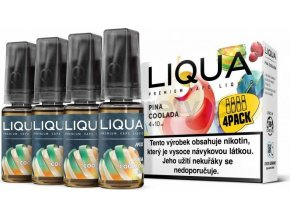 Liquid LIQUA CZ MIX 4Pack Pina Coolada 10ml-6mg