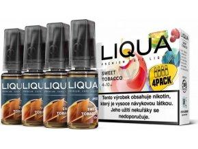 Liquid LIQUA CZ MIX 4Pack Sweet Tobacco 10ml-3mg