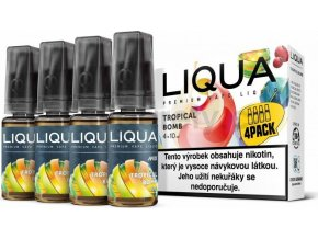 Liquid LIQUA CZ MIX 4Pack Tropical Bomb 10ml-12mg