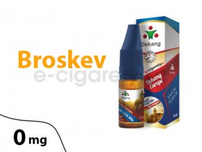 DekangEU liquid Broskev 10ml 0mg