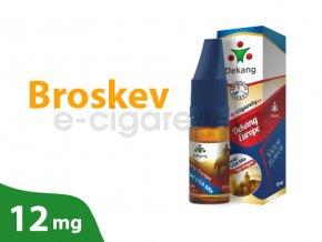 DekangEU liquid Broskev 10ml 12mg
