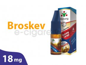 DekangEU liquid Broskev 10ml 18mg