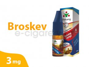 DekangEU liquid Broskev 10ml 3mg