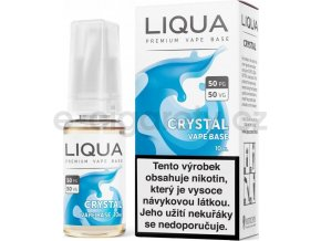 LIQUA CZ Crystal Vape Base 10ml-18mg