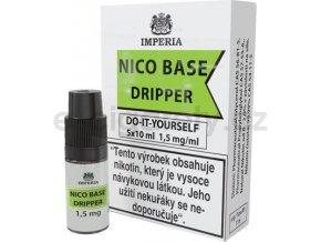 Nikotinová báze CZ IMPERIA Dripper 5x10ml PG30-VG70 1,5mg
