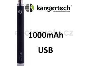 Kangertech EVOD baterie s USB 1000mAh Černá