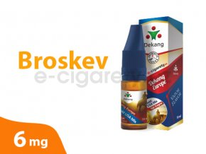 DekangEU liquid Broskev 10ml 6mg