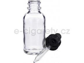 Skleněná lahvička s kapátkem 30ml