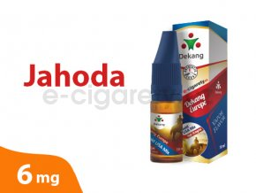 DekangEU liquid jahoda 10ml 6mg