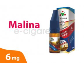 DekangEU liquid Malina 10ml 6mg